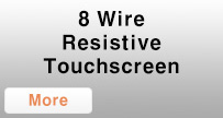 8 Wire Resistive Touch screen